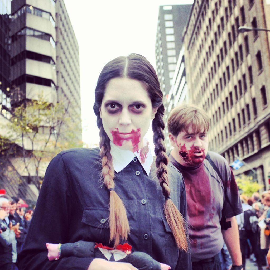 © Photcal, Bighouse, La marche des zombies de Montréal