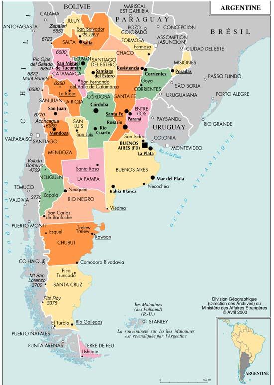 carte-provinces-argentine