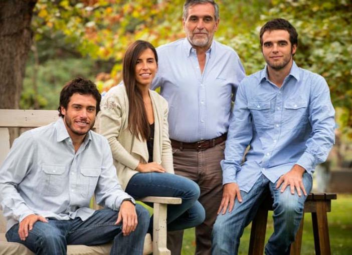 La famille de vignerons Zuccardi dont l'ancêtre italien est venu s'installer à Mendoza dans les années 1870.