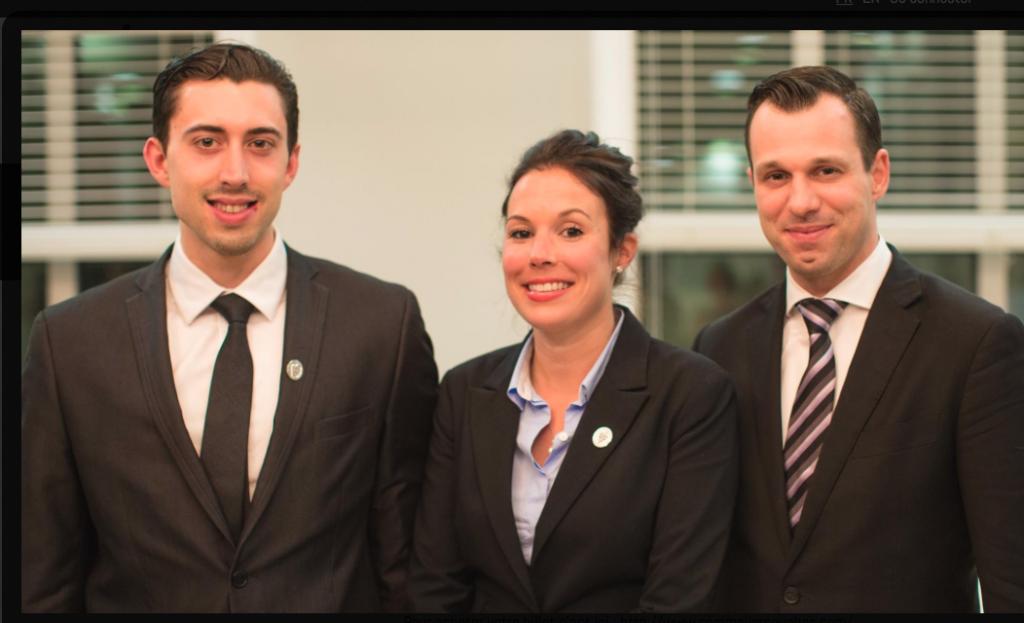 Les 3 candidats qui se présenteront ce 31 mai devant le jury.