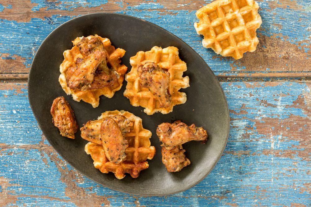 _PHOTO SECONDAIRE DE PREPARATION DU chicken waffle