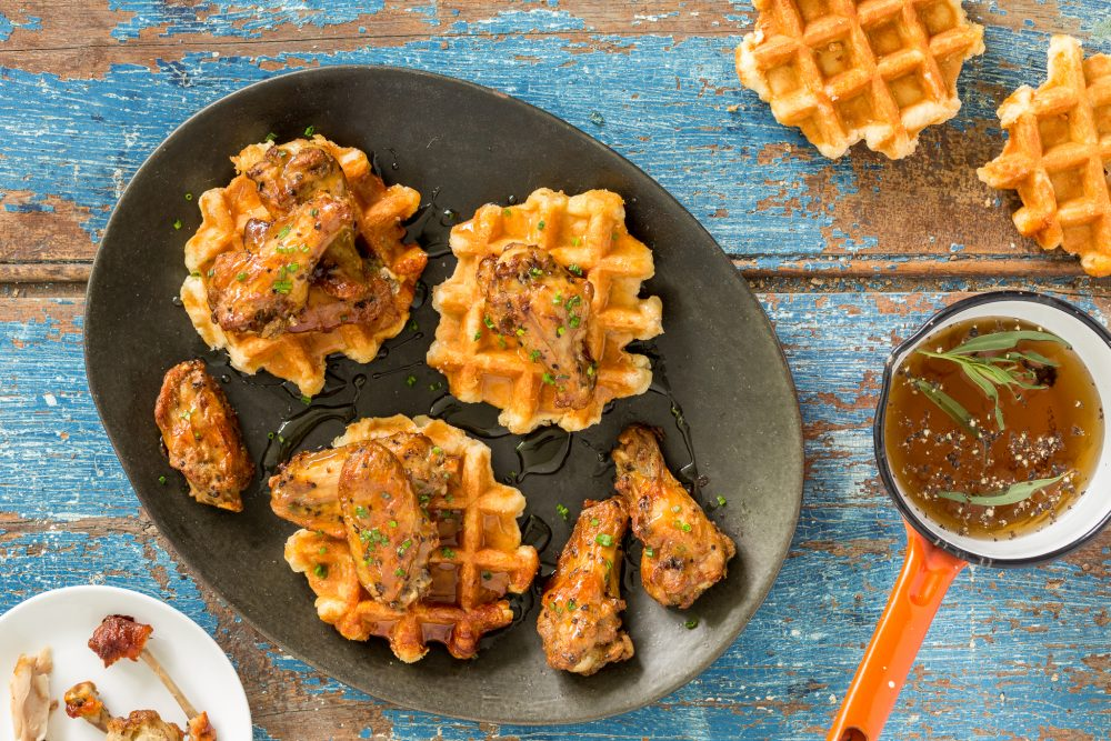 _Photo PRINCIPALE recette Chicken and Waffles