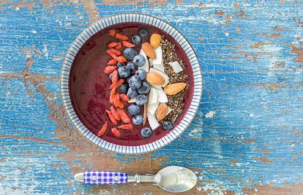 _Photo recette bol de smoothie aux bleuets antyoxidant vitamine