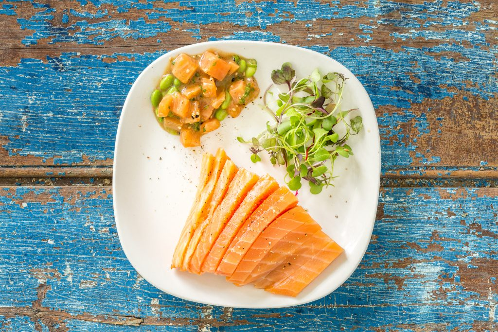 _Photo saumon Limoges dans assiette