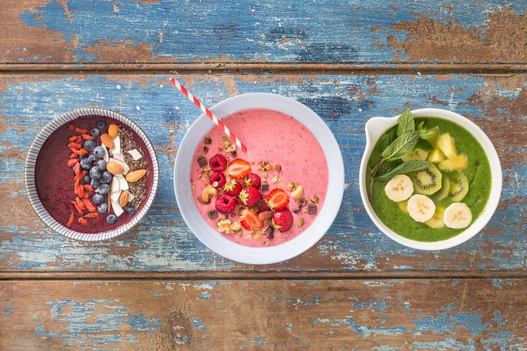 _photos trois smoothies