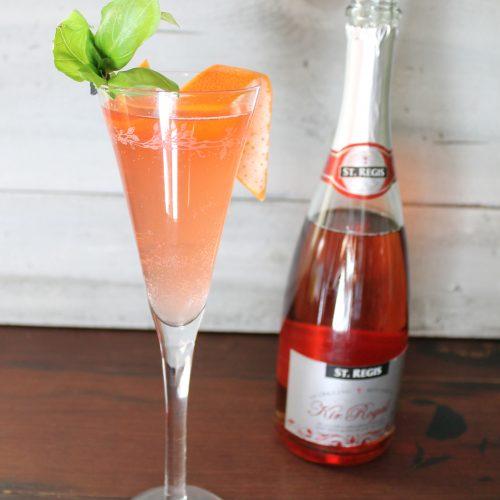 _Cocktail KIR ROYAL ROSE