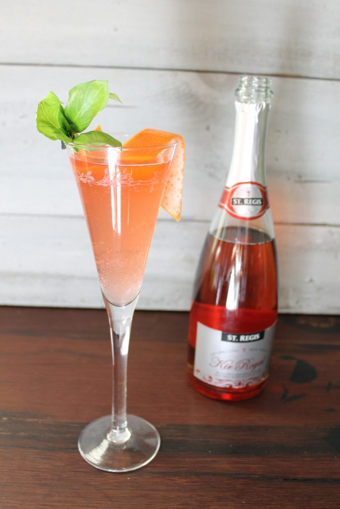_Cocktail KIR ROYAL ROSE