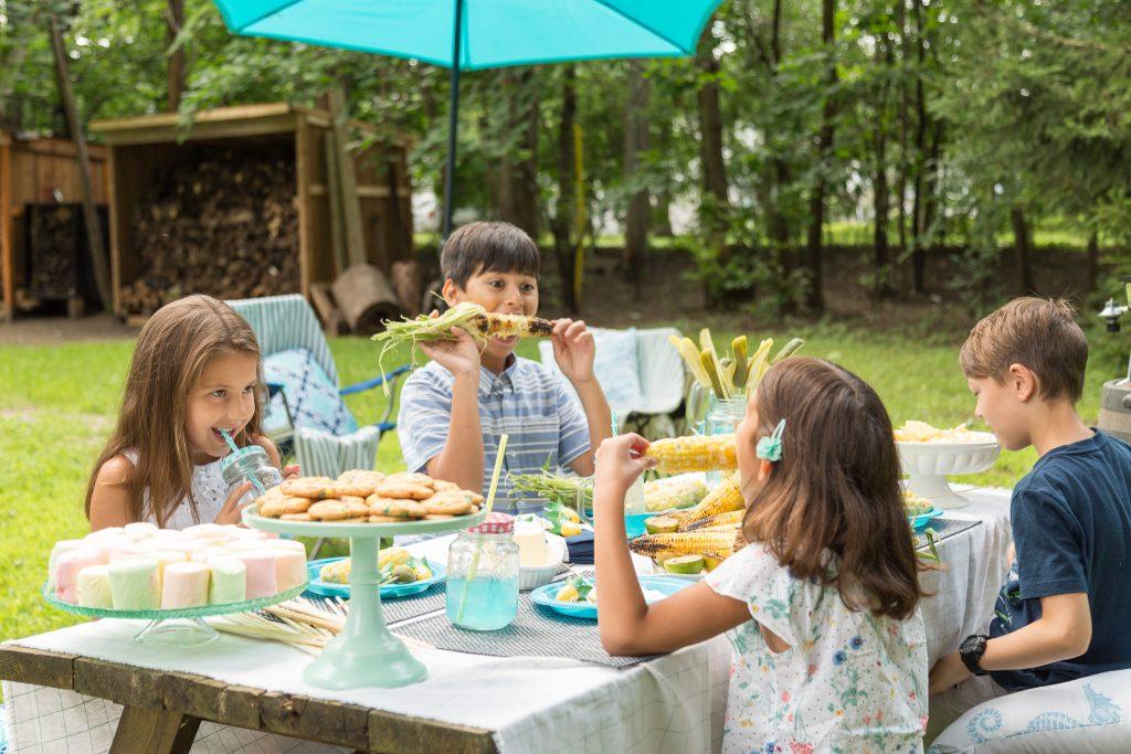 _Photo jardin Turquoise juste enfants de proche
