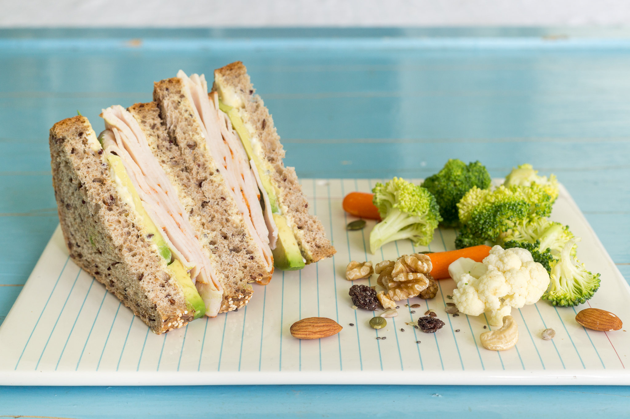 _Photo recette sandwich dinde et avocat