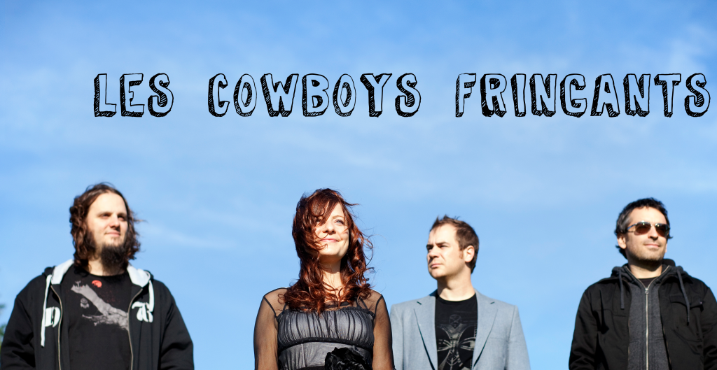 Les Cowboys Fringants (couverture d'album)