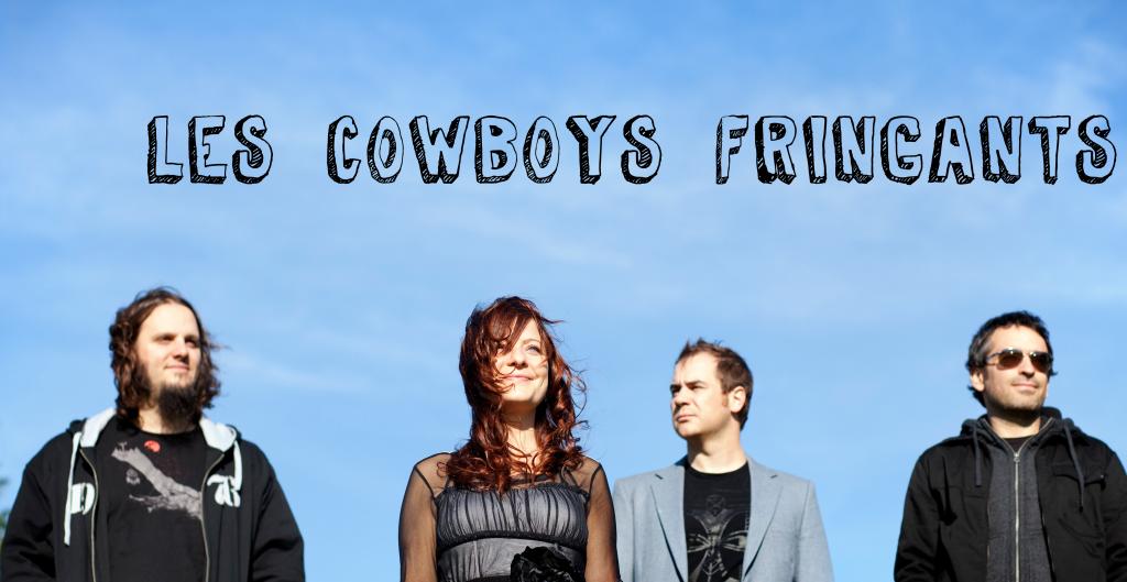 Les Cowboys Fringants (couverture d'album)