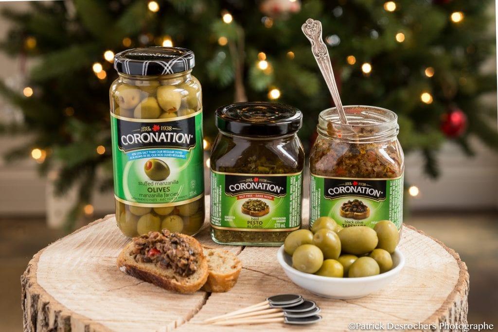 Olives et pesto