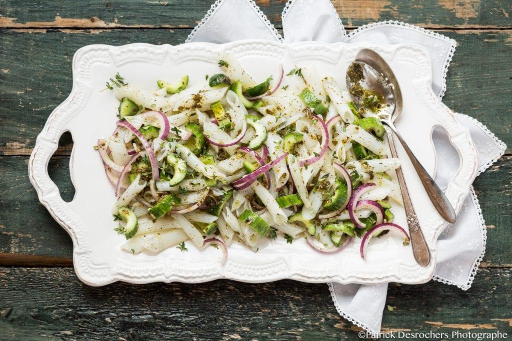 Salade recette legumes