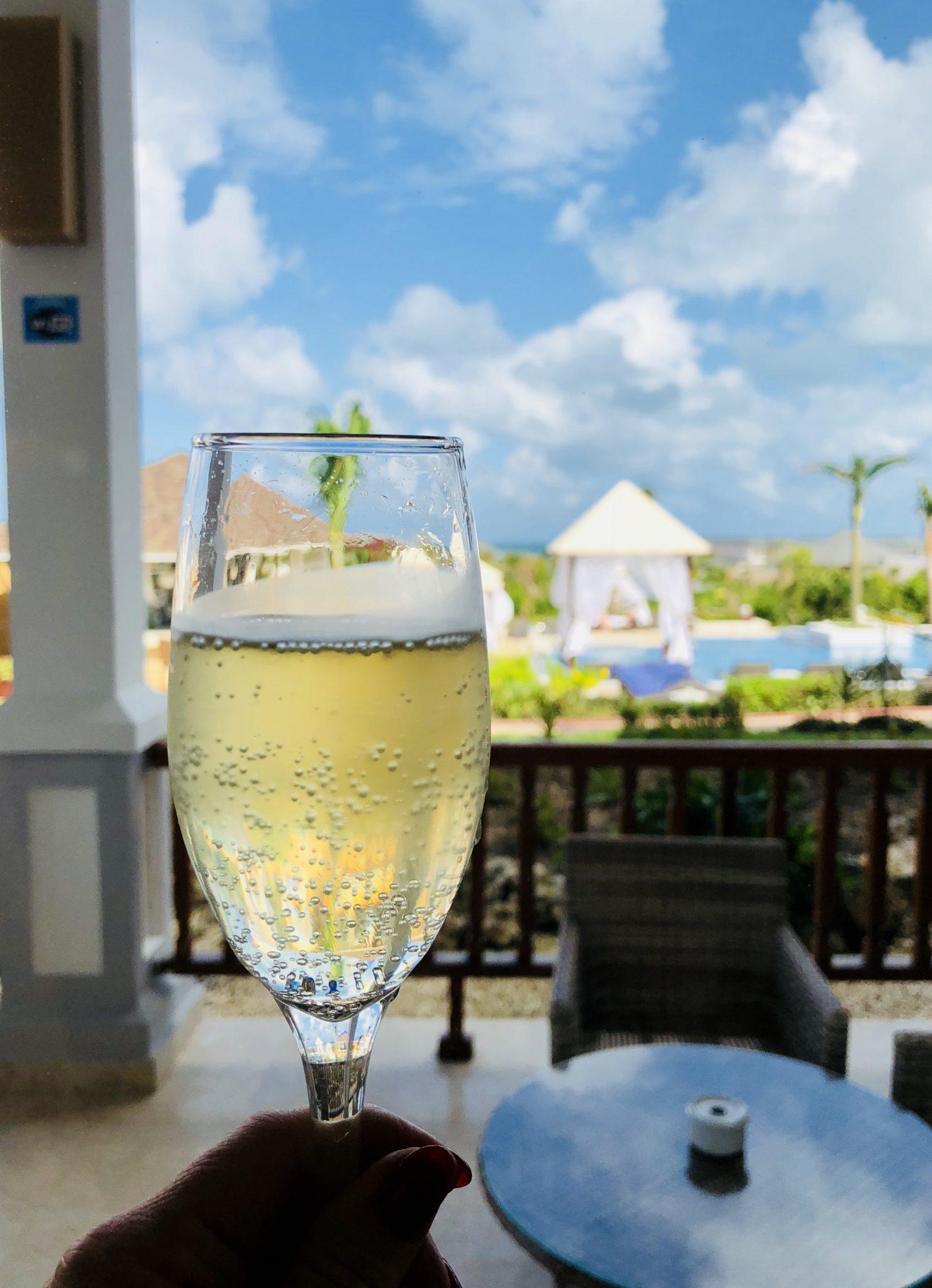 _ verre de champagne