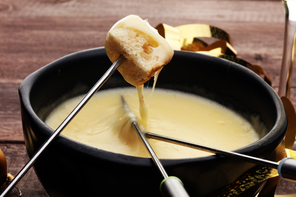 _photo fondue au fromage