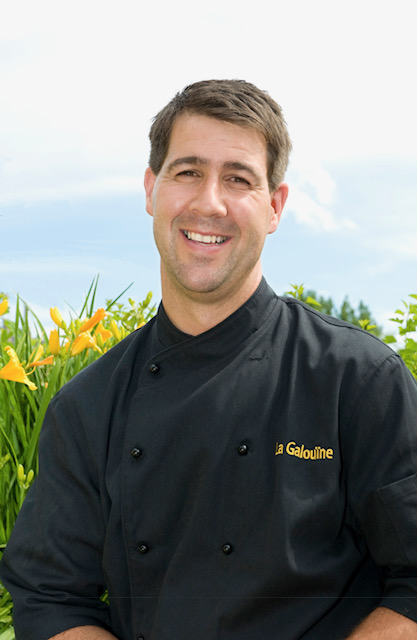 Martin Brisson chef cuisinier, La Galouïne Auberge et Restaurant / Fondateur de Terroir Boréal
