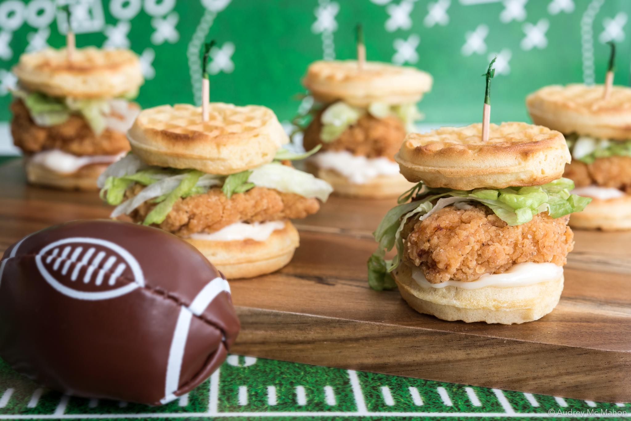 _Photo mini-burgers de poulet