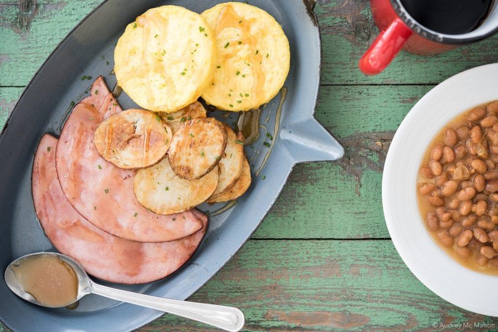 _Photo Burnbrae plat cabane a sucre avec galette d'oeufs
