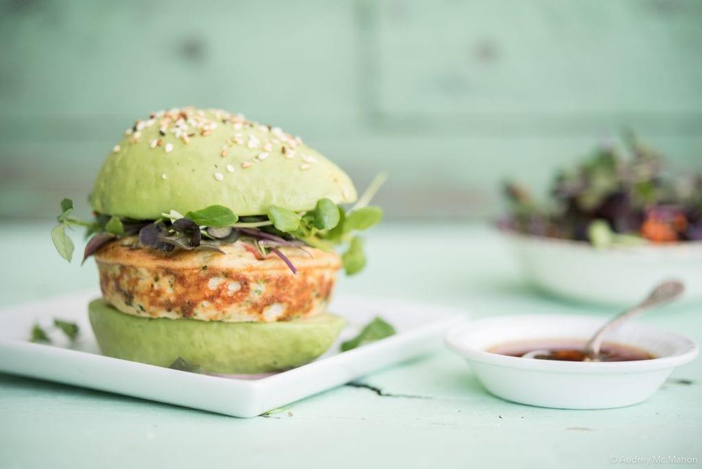 _Photo Burnbrae sandwich avocat avec galette oeufs Légumes du Jardin