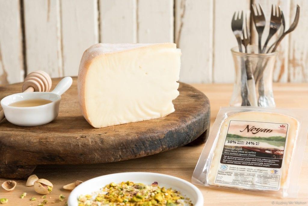 Fourchettes de fromage Noyan au miel et au dukkah produit