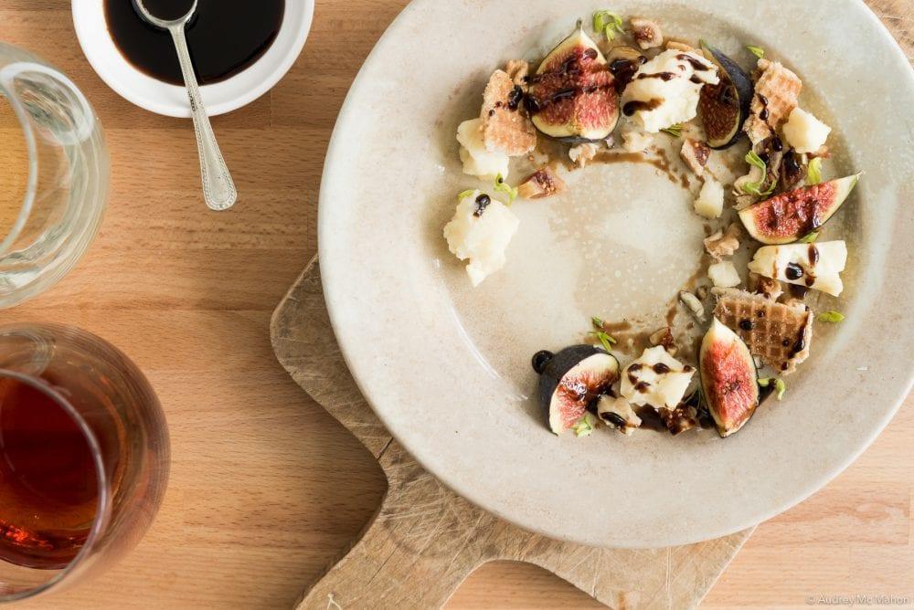 Photo Recette Le Bâtisseur avec figues et AVEC glaze de mélasse