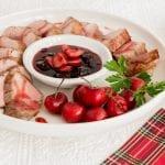 Sauce aux cerises confites aux épices des Fêtes