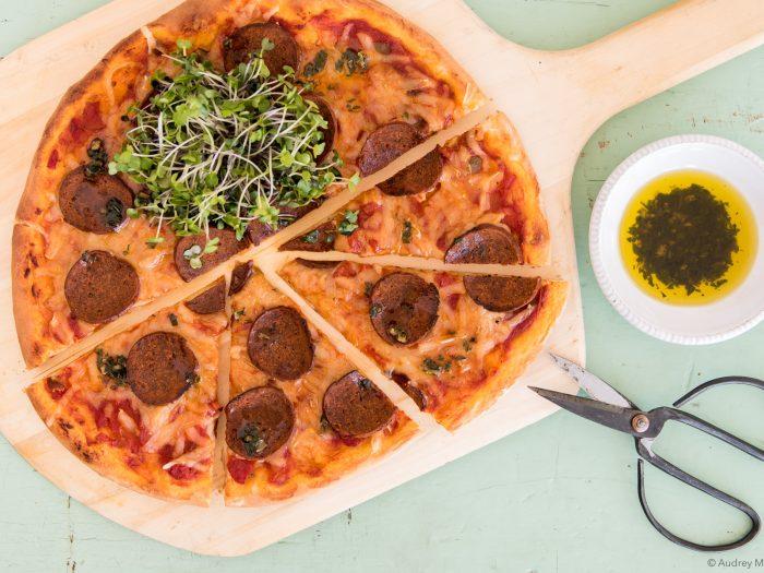 _Photo Recette Pizza Vegetalienne mars